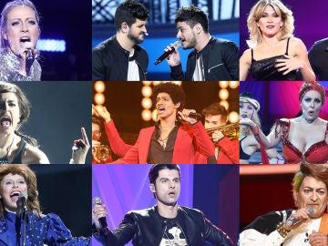 ¡Vota por la mejor actuación de la novena gala de 'Tu cara me suena'!