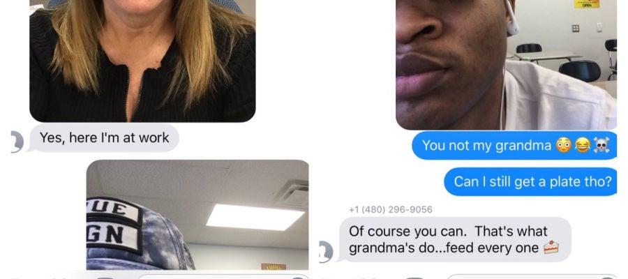 Una abuela y un adolescente al que envió por error un mensaje invitándole a su cena de Acción de Gracias mantienen la tradición tres años después
