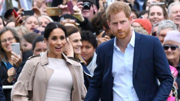 Los duques de Sussex, Meghan Markle y el príncipe Harry