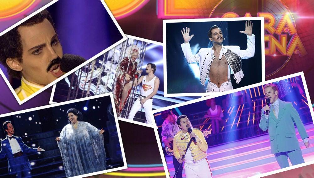 Todas las imitaciones de Freddie Mercury en 'Tu cara me suena'