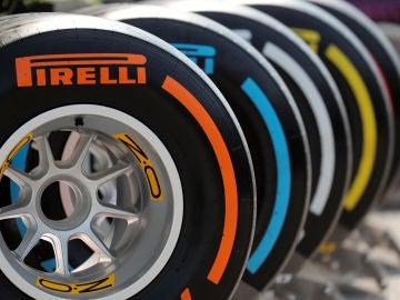 Los neumáticos Pirelli, antes de un Gran Premio