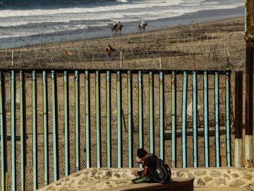 Imagen de la frontera de EEUU