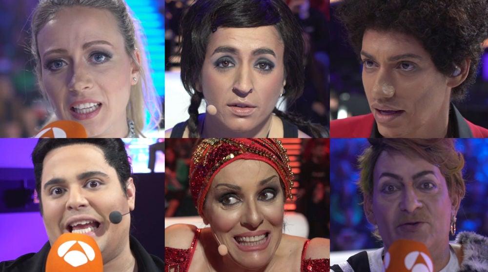 Los concursantes comparten sus emociones tras actuar en la novena gala de 'Tu cara me suena'