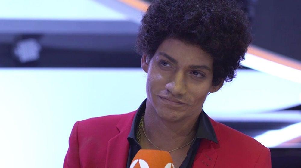 La reacción de Carlos Baute tras ganar como Bruno Mars en 'Tu cara me suena'