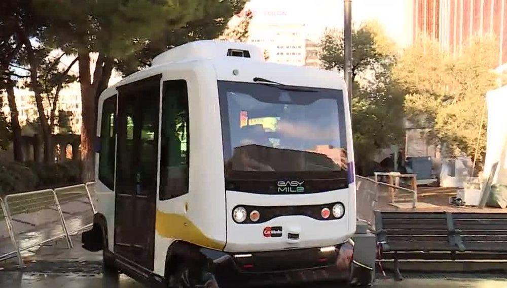 Autobús eléctrico estrenado en Madrid