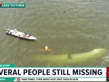 Al menos 30 fallecidos en el naufragio de una embarcación de lujo que navegaba en el Lago Victoria