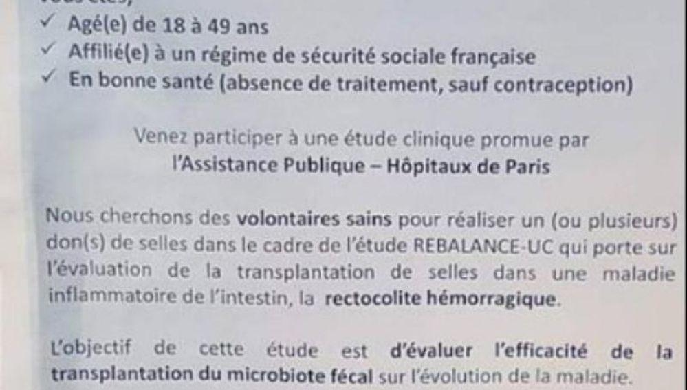 Anuncio Hospital Saint-Antoine