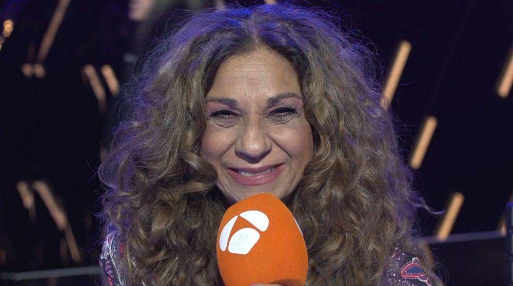 """Una Lolita Flores """"encantada"""" hace balance de la novena gala de 'Tu cara me suena'"""
