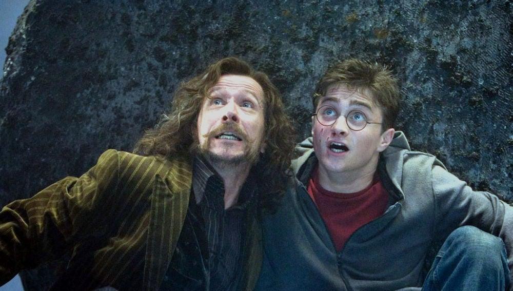 Harry Potter y Sirius Black