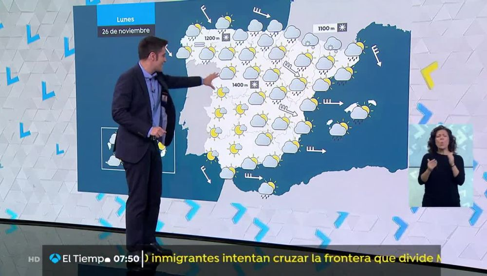 Vientos muy fuertes en las mitades norte y este de la Península, Baleares y Melilla