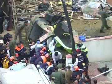 Mueren cuatro soldados turcos al estrellarse el helicóptero militar, otro ha resultado herido