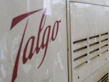 Vista de un vagón de un tren de la empresa española Talgo
