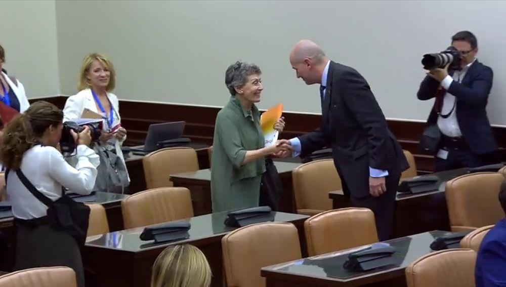 La administradora, Rosa María Mateo, de RTVE no posee la licenciatura en Ciencias Políticas como indicaba su perfil biográfico