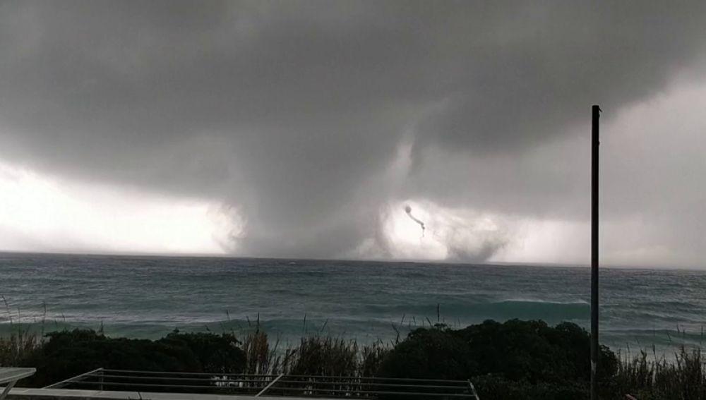 Han presenciado tornados en la región de Puglia, Italia