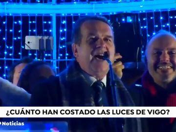 """Abel Caballero defiende que Vigo ha ingresado """"tres veces el coste de las luces de Navidad"""" en un solo fin de semana"""