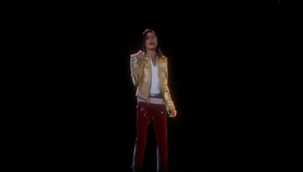 Holograma de Michael Jackson