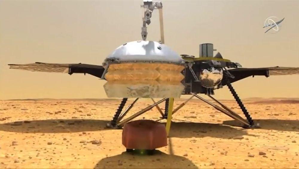 Siete minutos de terror: la nave Insight aterriza en Marte