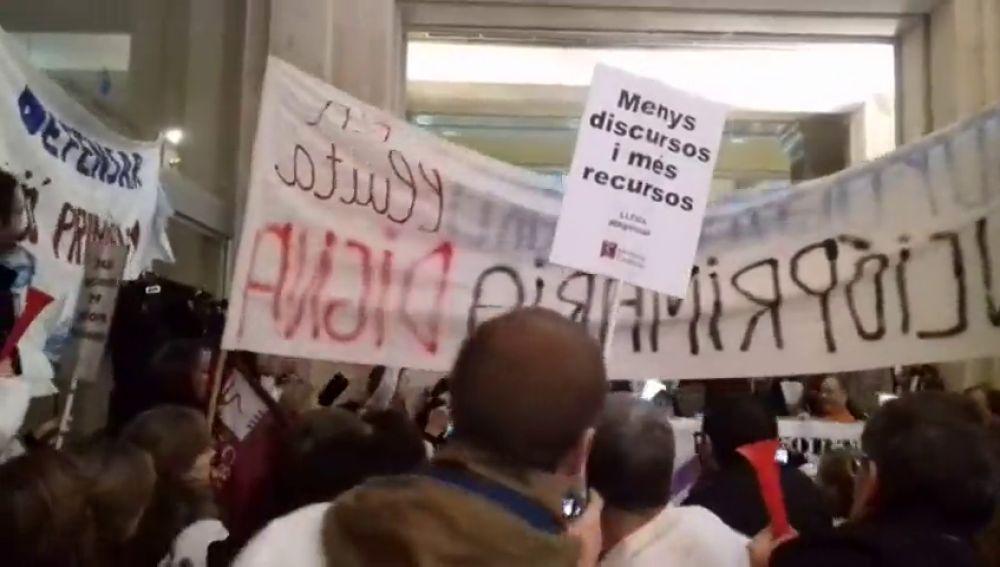 Los médicos de primaria de Cataluña inician cinco días de huelga
