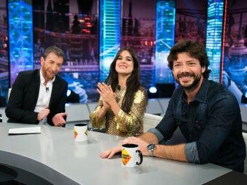 VÍDEO: Revive la entrevista completa de Adriana Ugarte y Álvaro Morte en 'El Hormiguero 3.0'