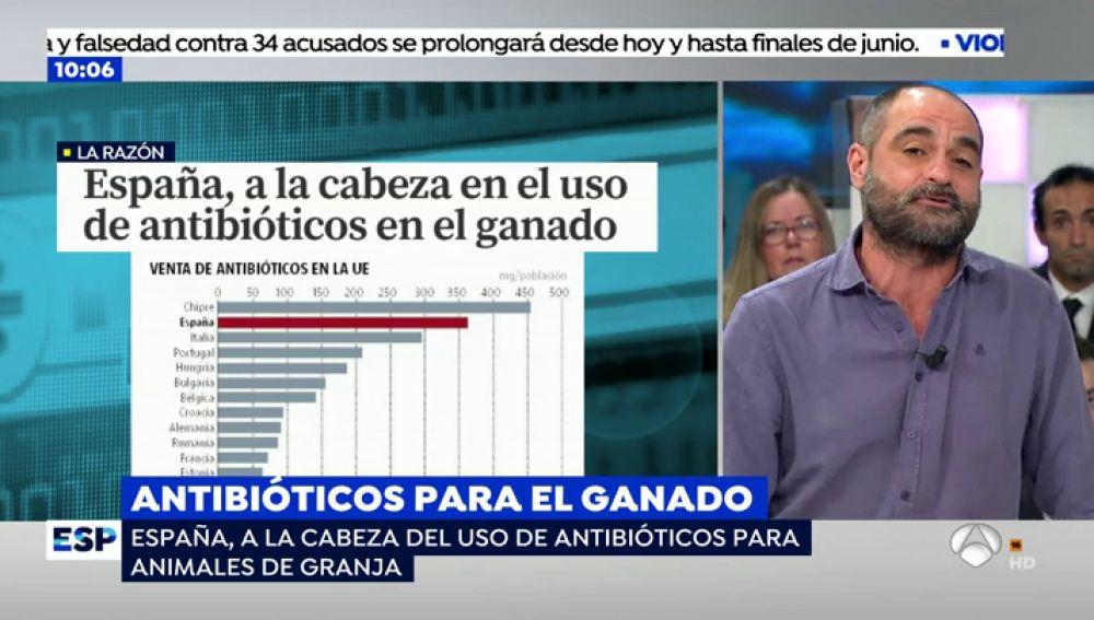 Alerta sanitaria en España.