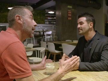 """Estalla la guerra en el encuentro de Roberto y Manuel: """"No voy a consentir que falten a lo mío"""""""
