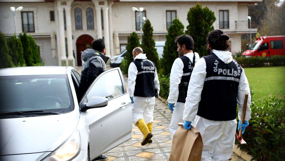 La Policía turca registra una finca en busca del cuerpo de Khashoggi