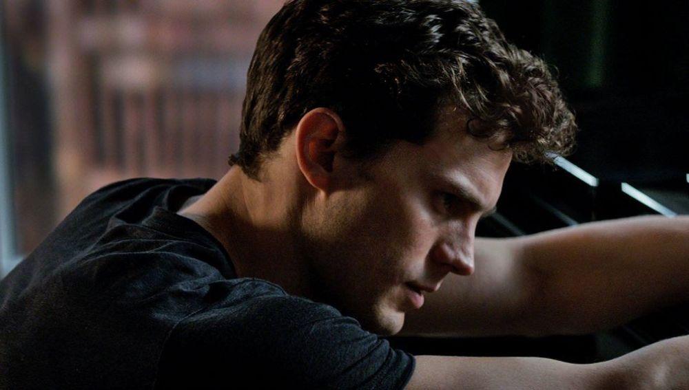 Jamie Dornan en 'Cincuenta sombras de Grey'