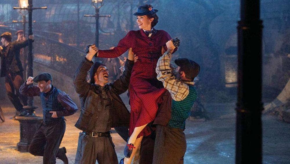 Escena de 'El regreso de Mary Poppins'
