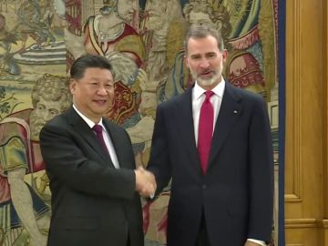 Xi Jinping llega a Madrid para la primera visita de Estado de un presidente chino a España en 13 años