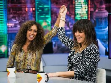 Rosario Flores y Vanesa Martín desvelan en 'El Hormiguero 3.0' las novedades de 'La Voz Kids' en Antena 3