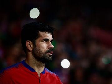 Diego Costa, en el Wanda Metropolitano