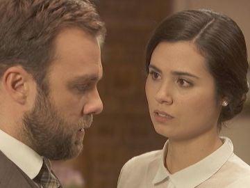 El encuentro más cercano de María y Fernando