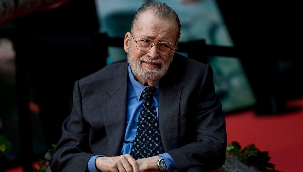 Chicho Ibáñez Serrador en una de sus últimas apariciones