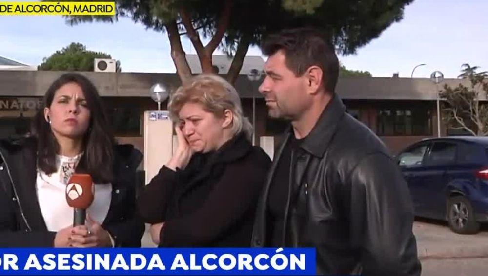 Los padres de la joven asesinada en Alcorcón