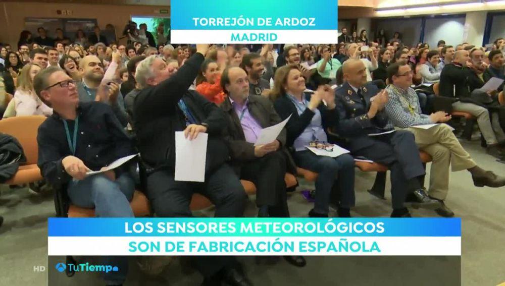 Así se celebró la llegada de InSight a Marte en Madrid y California