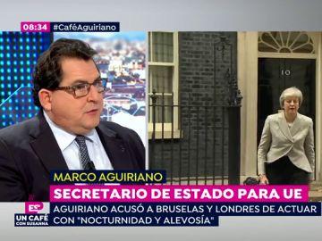 Luis Marco Aguirano, secretario de Estado para la Unión Europea
