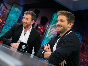 El viaje en el tiempo de Pablo Alborán en 'El Hormiguero 3.0' tras convertirse en invitado Platino