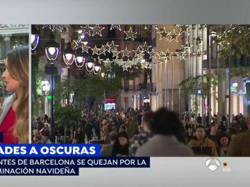 Barcelona se queja de la tacañería de su Ayuntamiento comparándose con la espectacular campaña navideña de Vigo