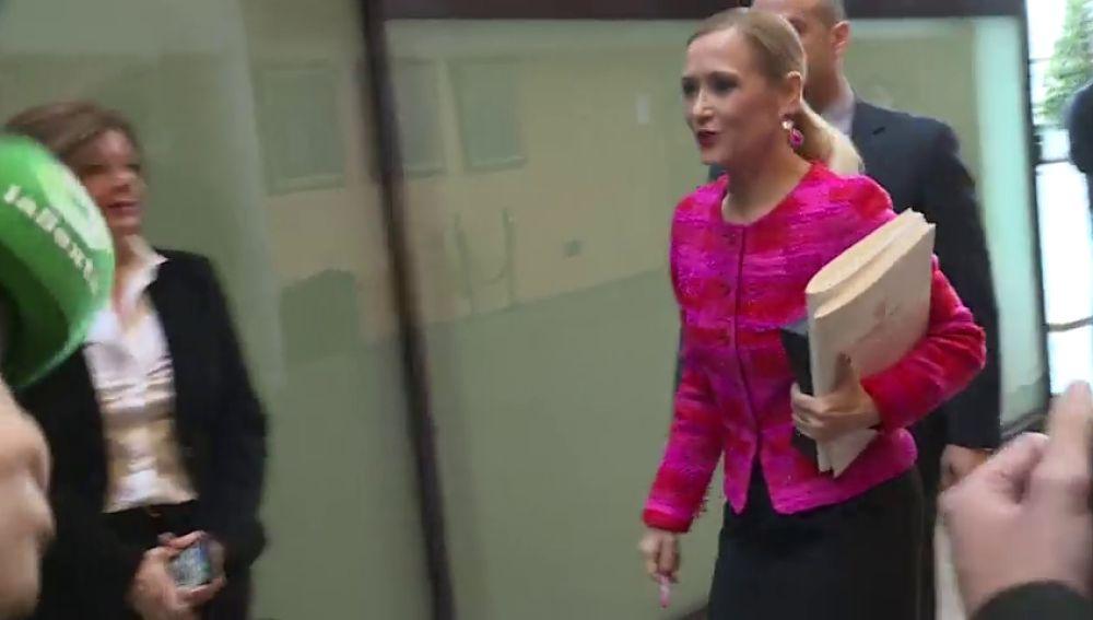 La juez envía a juicio a Cristina Cifuentes por el caso máster