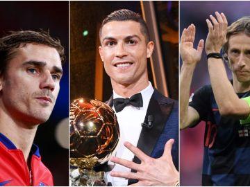 Candidatos al Balón de Oro 2018