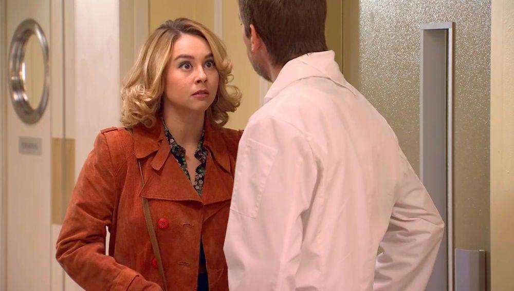 El rapapolvo de Luisita a su padre por provocar a Amelia