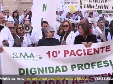 Tercer día de huelga de los médicos catalanes tras un nuevo fracaso negociador