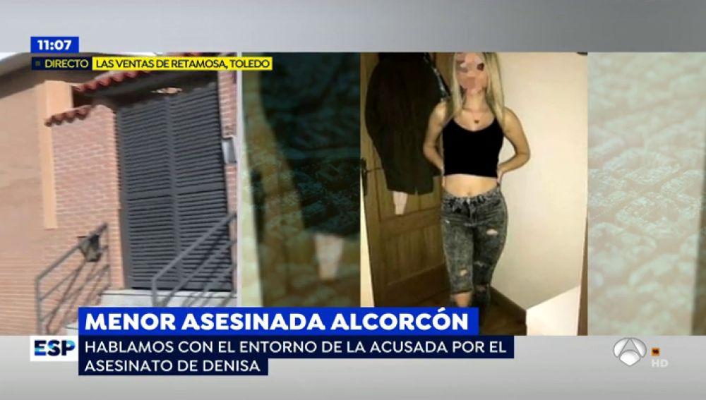 La joven detenida por el asesinato de una menor en Alcorcón está embarazada, según su entorno