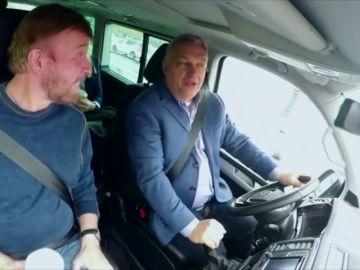 Viktor Orbán y Chuck Norris