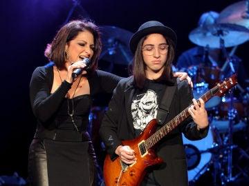 Gloria Estefan junto a su hija Emily Estefan