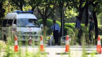 Ambulancia en China