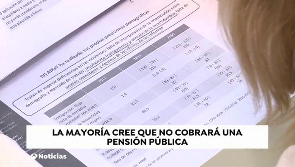 El Estado necesitará más de 200 mil millones de euros para pagar las pensiones en 2048 si no reforma el sistema