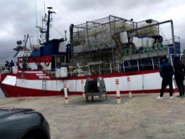 El pesquero 'Nuestra Madre Loreto' de Santa Pola
