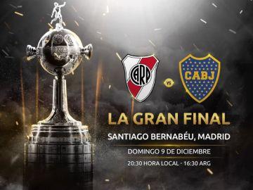 La final de la Libertadores, en el Santiago Bernabéu