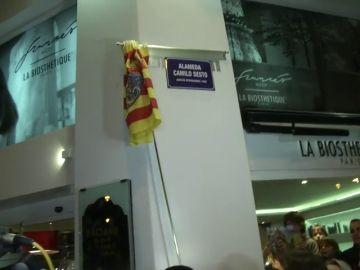 Camilo Sesto inaugura una avenida con su nombre en Alcoy